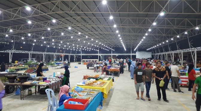 Gadong Night Market in Brunei