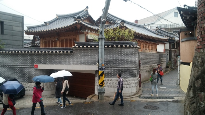 Immerse yourself in traditional Korean culture at Bukchon Hanok Village