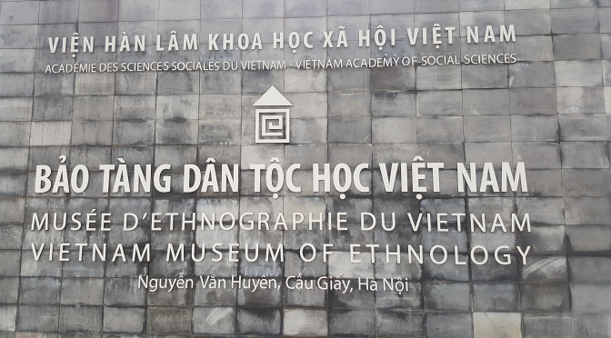 Vietnam Museum of Ethnology at Cau Giay District in Hanoi, Vietnam