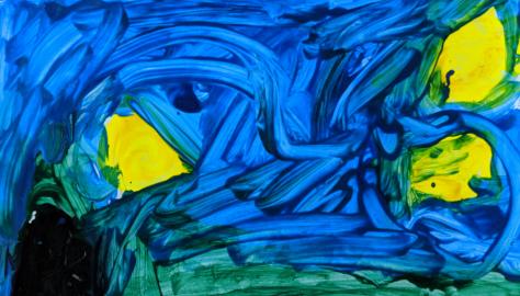 Art For Preschool Children Van Gogh S Starry Night