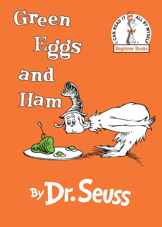 """""""Green Eggs and Ham"""" by Dr Seuss"""