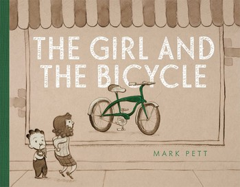 """The Girl and the Bicycle"" by Mark Pett"