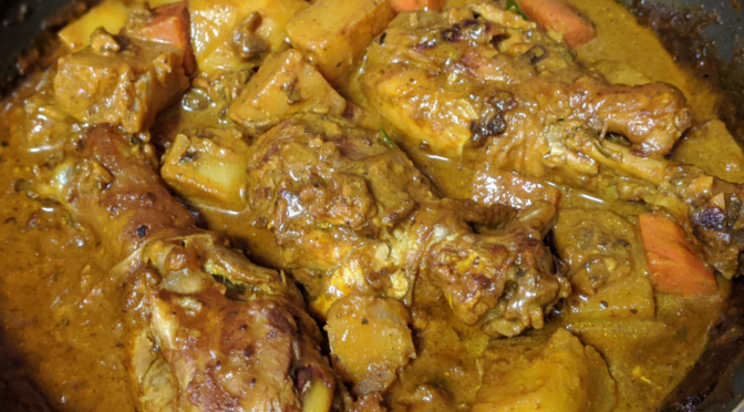 How to cook chicken curry